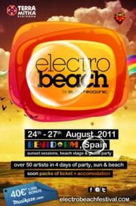 Festival electrobeach Benidorm Agosto 2011