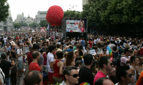 Orgullo Gay Madrid 2012