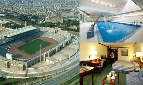 hoteles en barcelona cerca del estadio