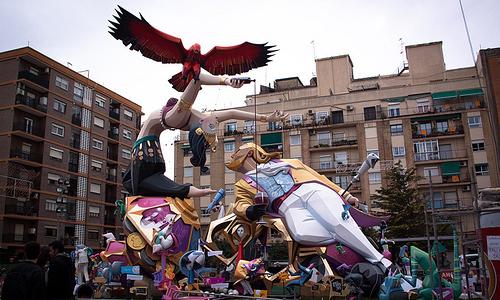 Fallas de Valencia 2013: reserva hotel y disfruta de la fiesta