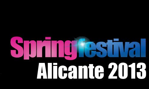 Alicante Spring Festival 2013: ¡compra ya tu entrada y reserva hotel!