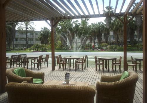 Hotel Caribe Port Aventura Terraza