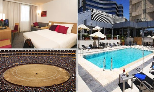 hoteles baratos en Madrid puente
