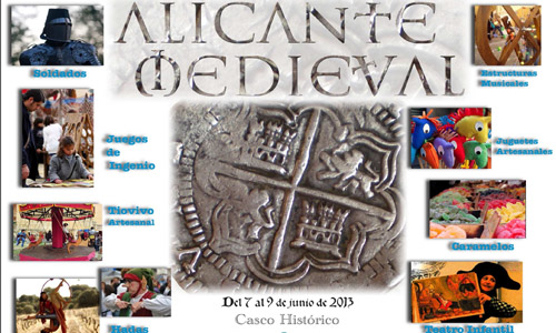 Alicante celebra su Feria Medieval este fin de semana