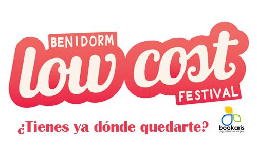 Low Cost Festival 2013 de Benidorm últimas ofertas