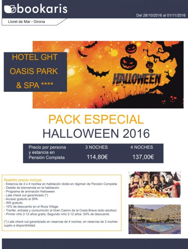 Ofertas en Lloret de Mar para Halloween