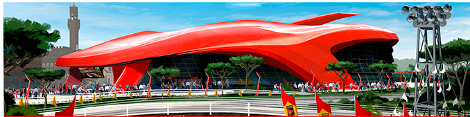 No te puedes perder… Ferrari Land