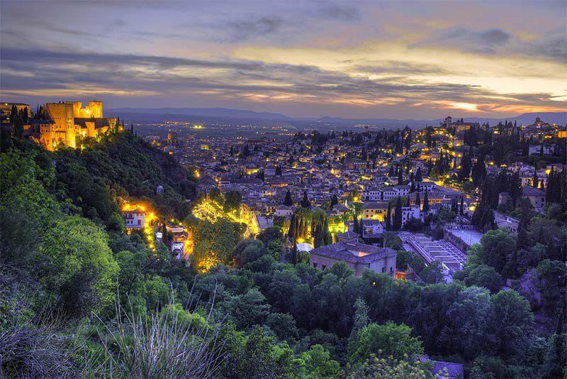 Visitar Granada en 2 días