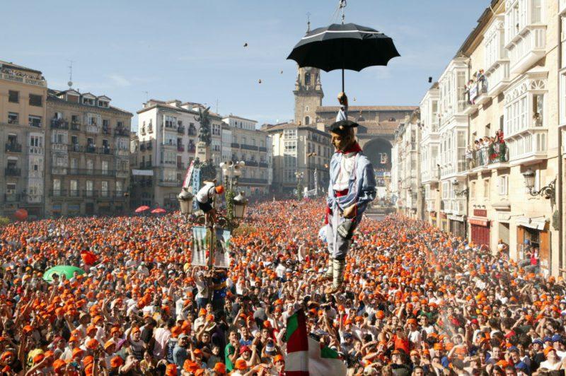 De fiesta en Agosto por el País Vasco
