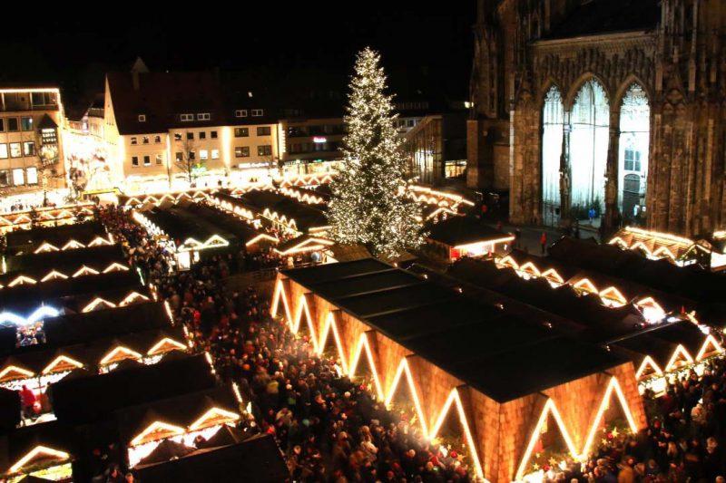Cinco ferias de Navidad en España