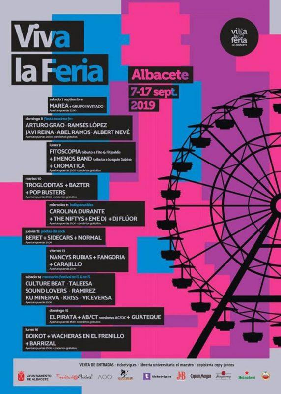 ir a las fiestas de Albacete