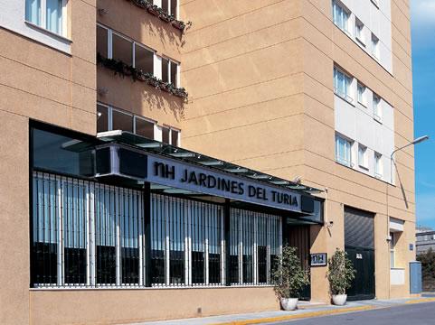 Hotel nh jardines del turia valencia ciudad valencia for Nh jardines del turia