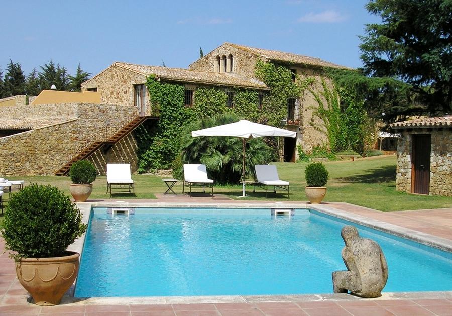 Hotel hotel restaurant mas salvi playa de pals gerona - Hoteles con encanto y piscina ...