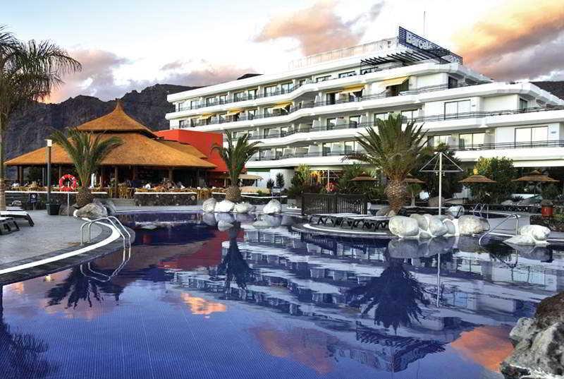 Hotel barcelo santiago puerto santiago tenerife - Puerto santiago tenerife mapa ...