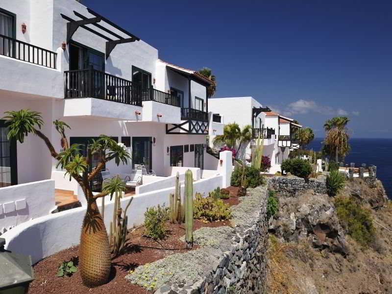 Hotel jardin tecina san sebastian de la gomera la gomera for Jardin tecina playa de santiago
