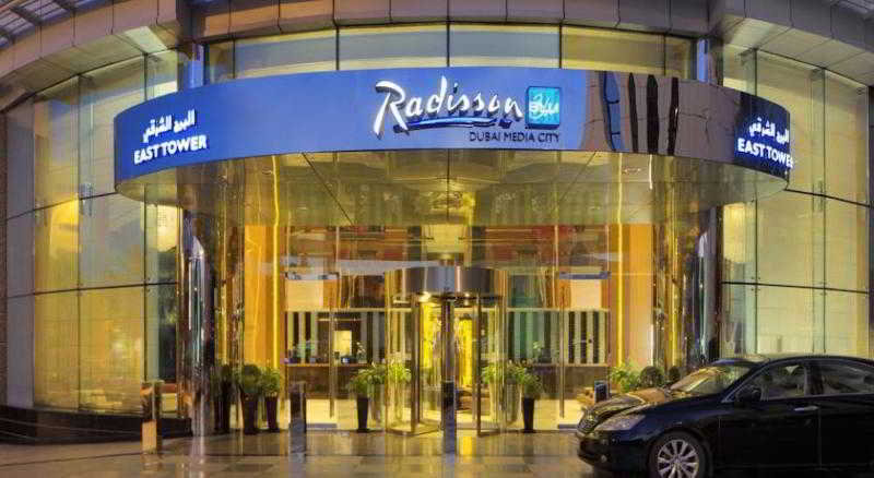 hotel radisson blu hotel, dubai media city