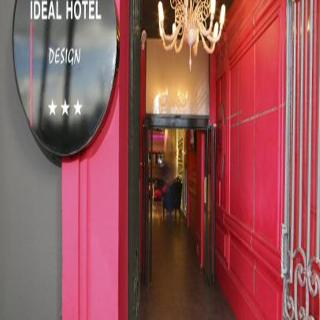 Hotel ideal hotel design arr14 15 montparnasse t eiffel for Ideal hotel paris 15