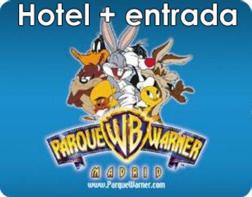 Hotel con entradas al Parque Warner